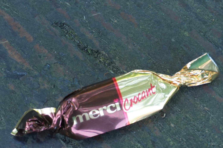 Für diesen Bonbon habe ich da ganze Gepäck ausgeräumt (Danke Silvia)