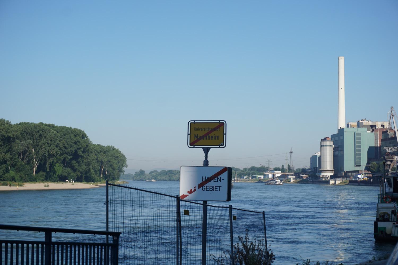 Sie verlassen Mannheim