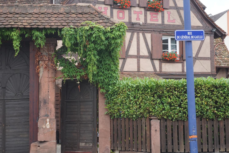 Eines der vielen historischen Häuser
