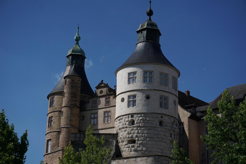 Burg in Montbeliard