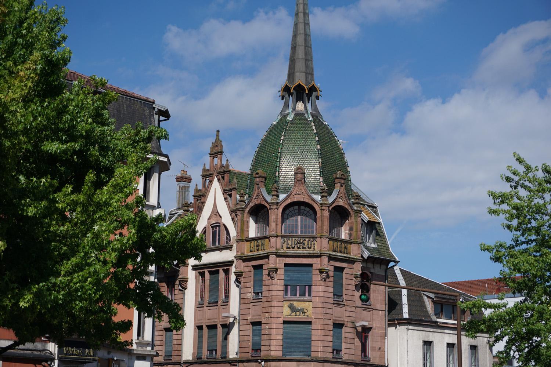 Gebäude in Montbeliard