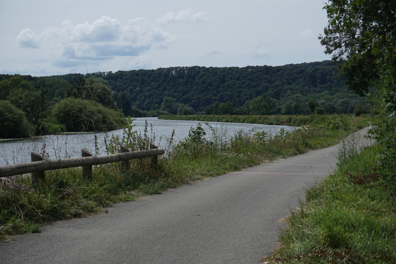 Radweg an der Doubs