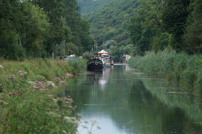 Hausbootromantik am Rhein-Rhone Kanal