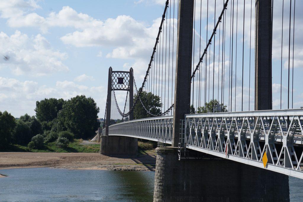 Brücke über die Loire bei Ancenis