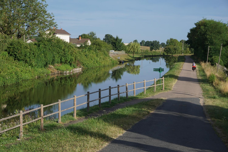 Start am Canal, bei gutem Wetter