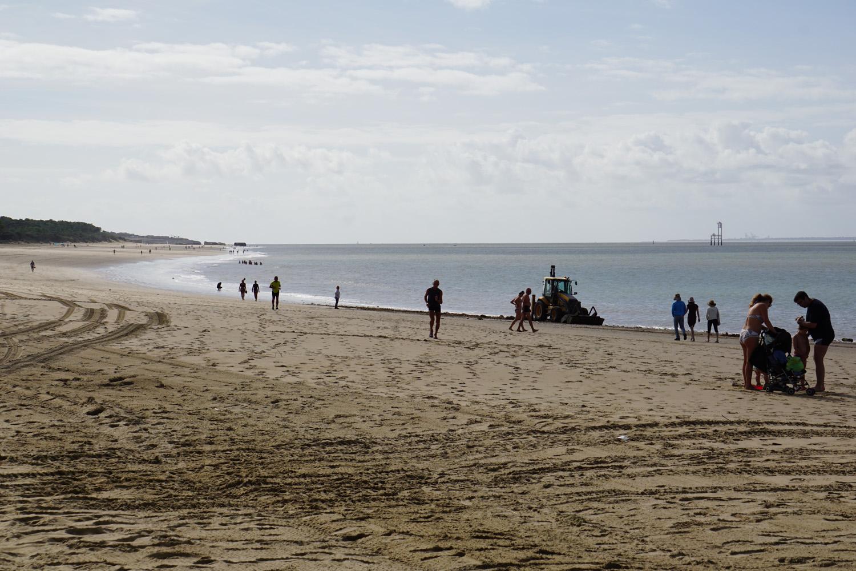 Strand bei La Palmyre