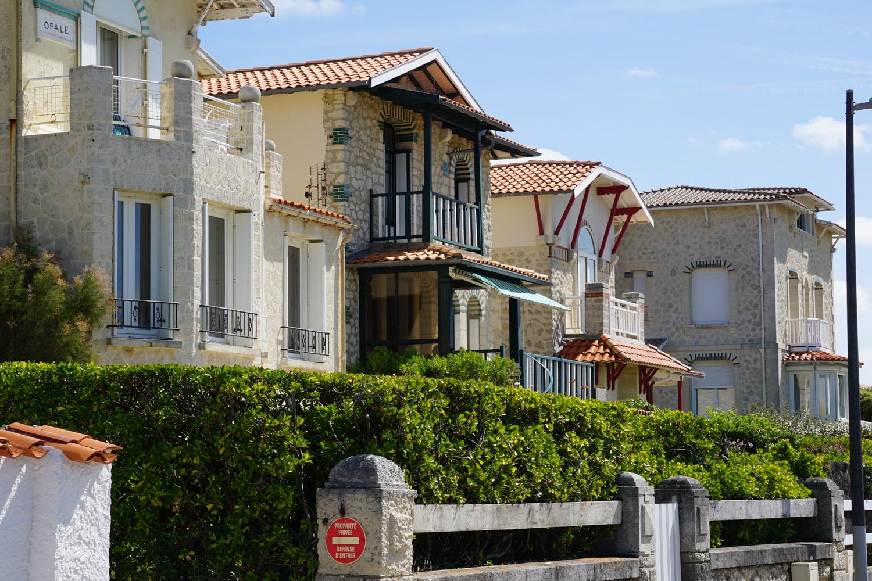Häuser in der 1. Reihe