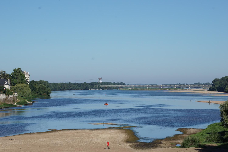 Viel Strand an der Loire