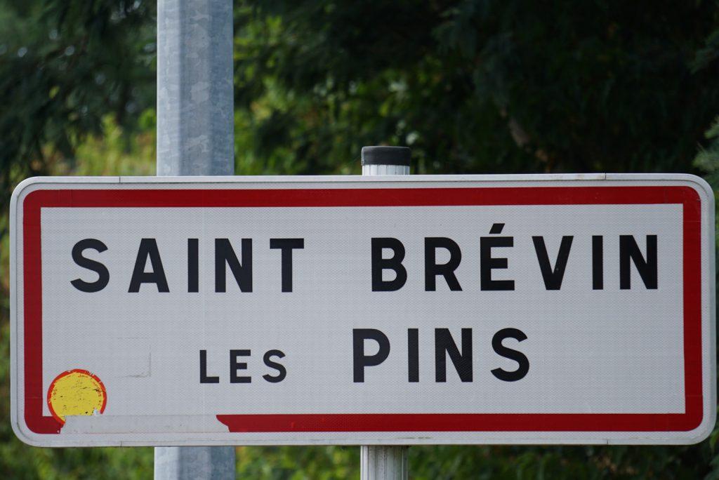Ende des Loire Radweges und Anfang des Atlantikradweges.