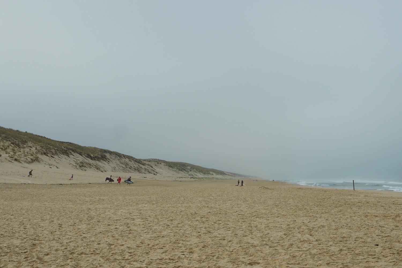 toller Strand, fast menschenleer
