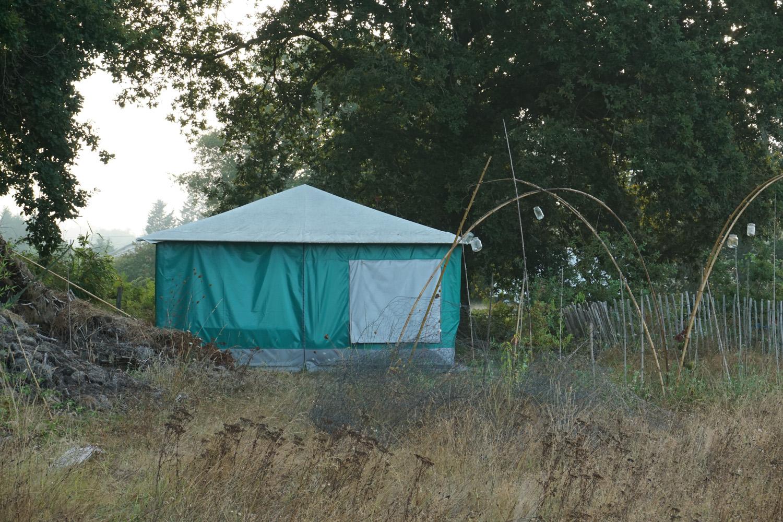 Zelt für die Gäste