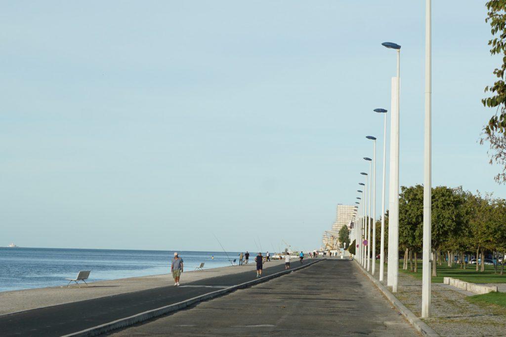 friedlicher Sonntagmorgen in Lissabon-Belem
