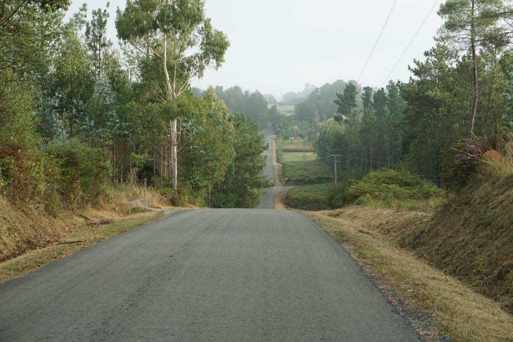 Fahren auf Nebenstraße