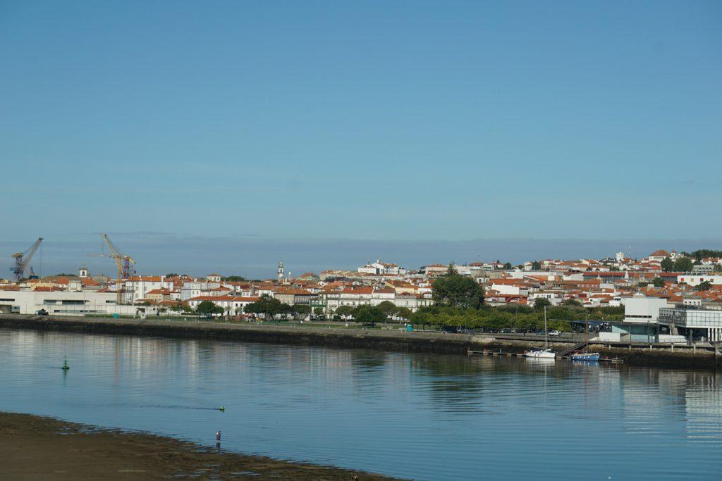Blick zurück auf Viana do Castello