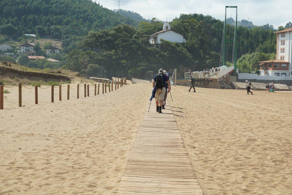 Pilgerroute durch den Sand