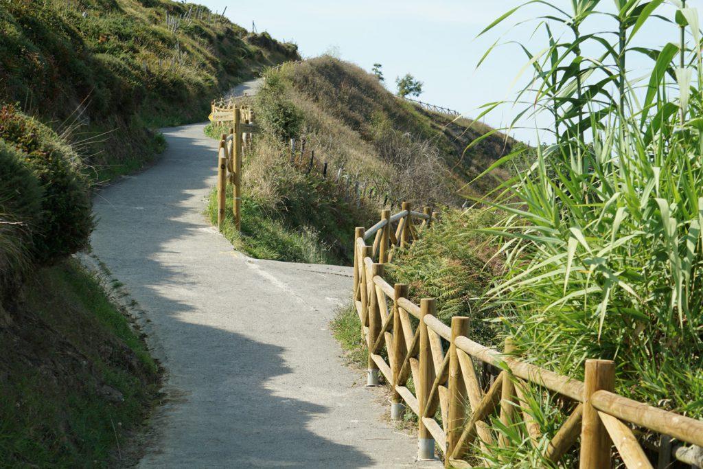 Hier geht der Küstenweg tatsächlich mal an der Küste lang.
