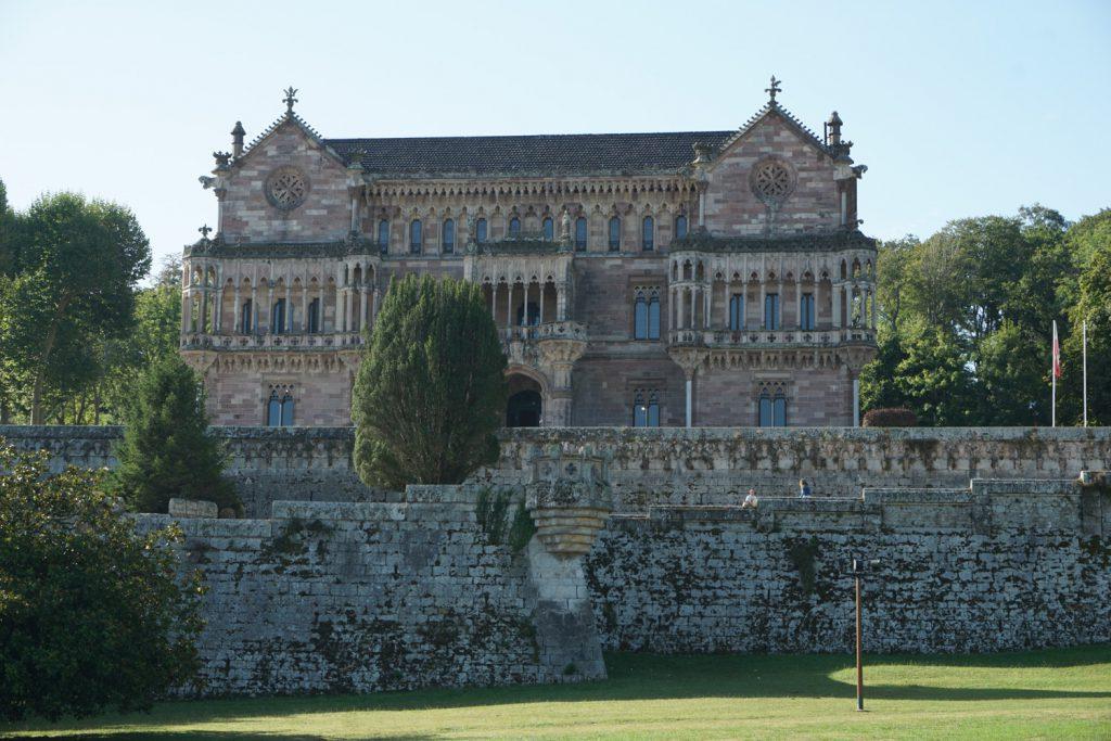 Der Palast Sobrellano in Comillas