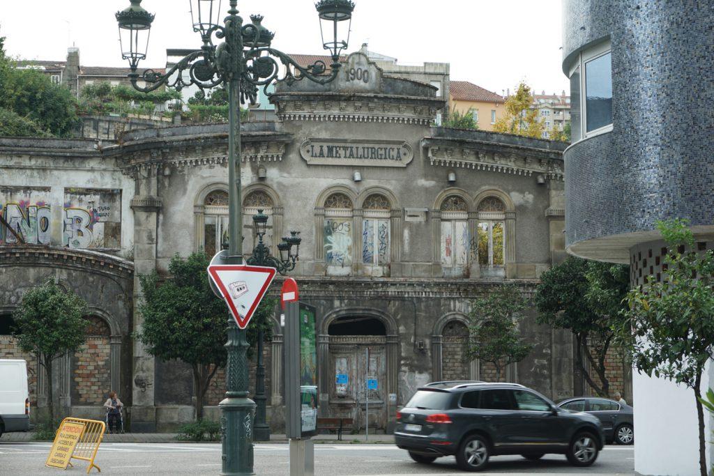 Leerstehendes Gebäude