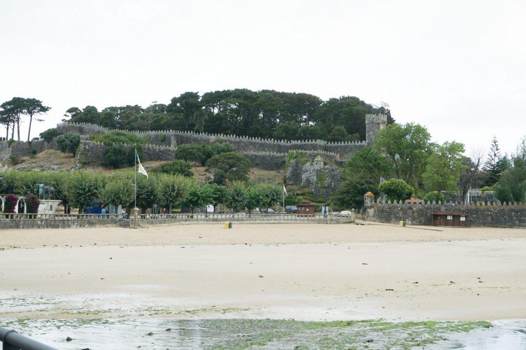 Burg in Baiona