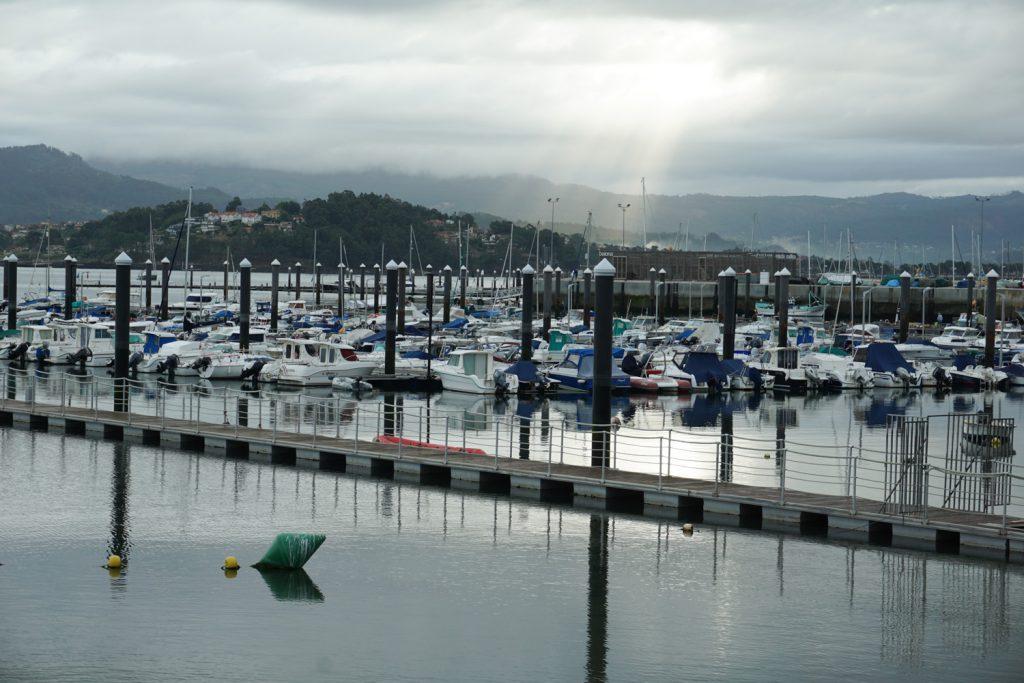 Hafen von Baiona