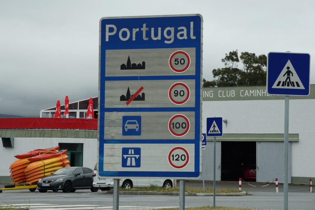 Ankunft in Portugal