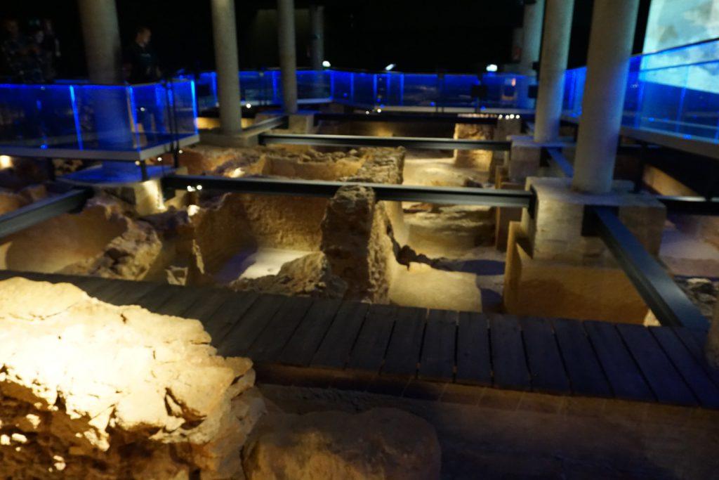Reste einer Siedlung der Phönizier aus dem 8. Jahrhundert vor Christus.