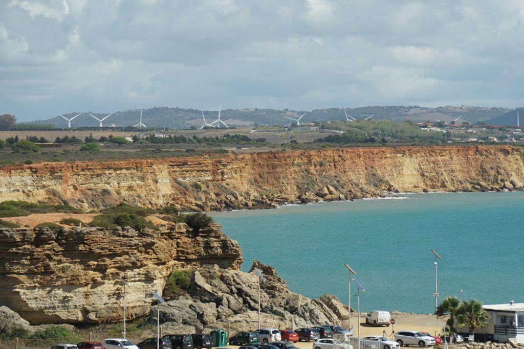 Steilküste, viel Windenergie