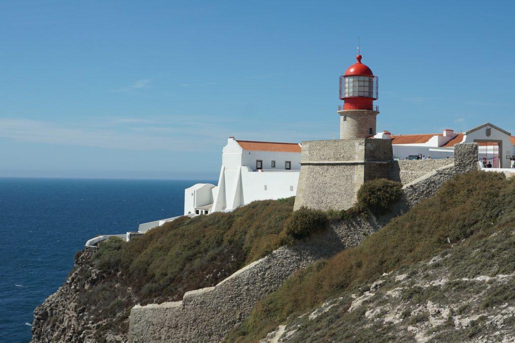 Leuchtturm in Cabo de São Vincente