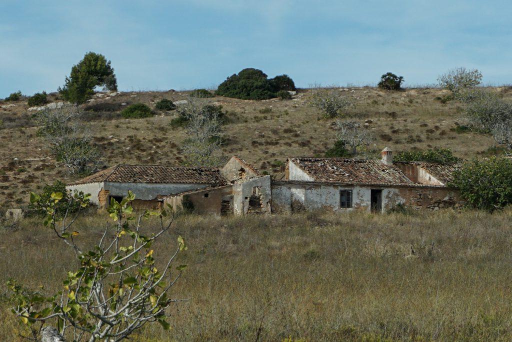 Verlassene Häuser auf dem Land