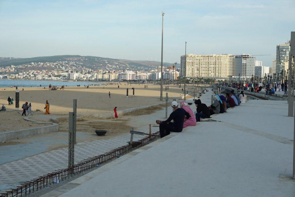 Strandpromenade Tanger