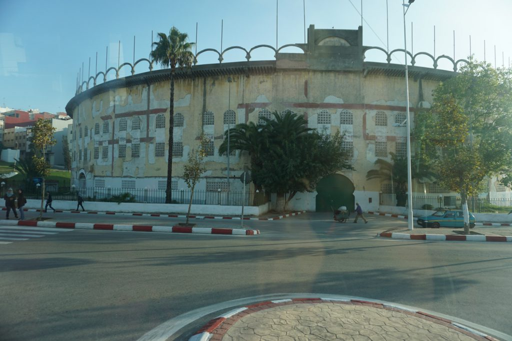 Stierkampfarena in Tanger