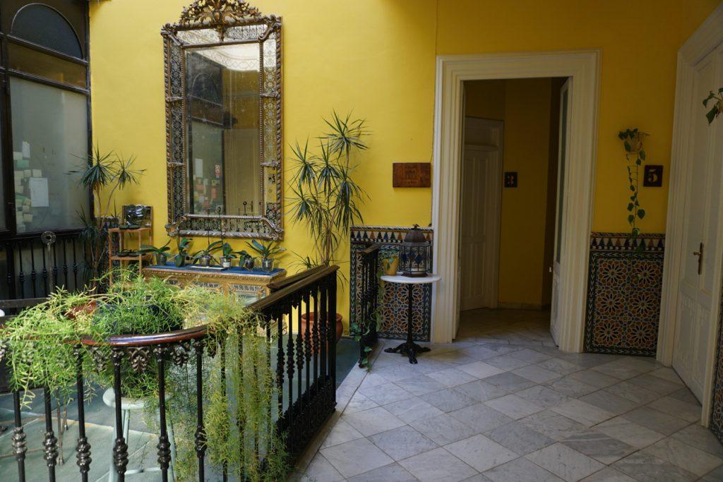 Hotel in Tarifa, Vorgeschmack auf Marokko