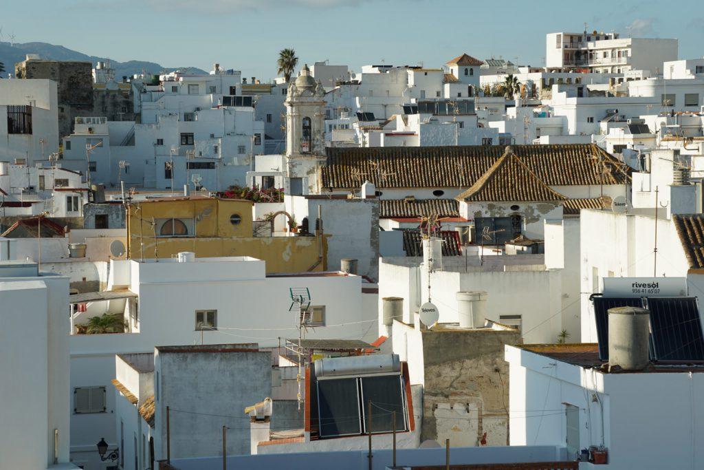 Blick auf Altstadt von Tarifa