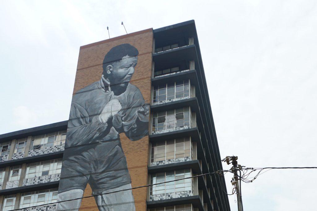 Nelson Mandela ist überall präsent