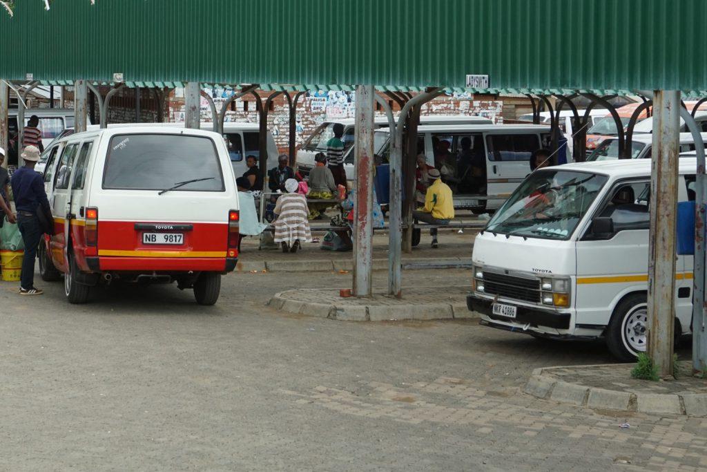 Minibusbahnhof