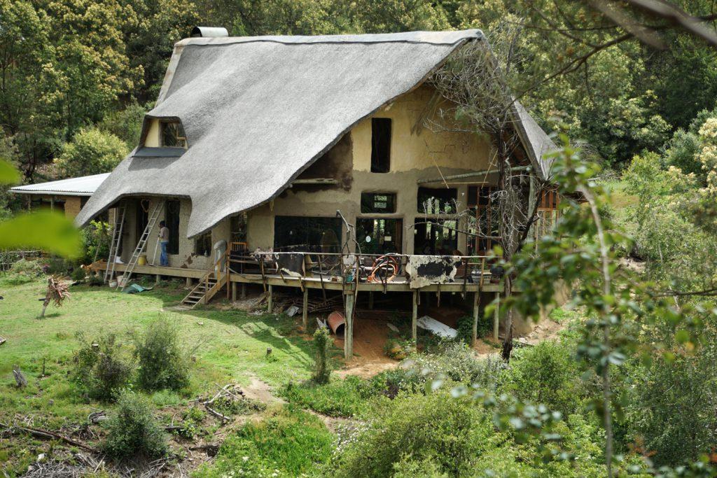 Wohnhaus mit Terasse