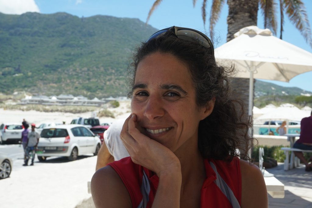 mit Angelique in Houtbay zum Mittagessen