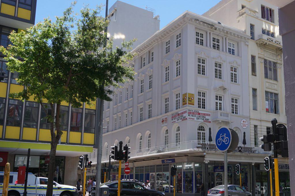 In der Innenstadt von Kapstadt