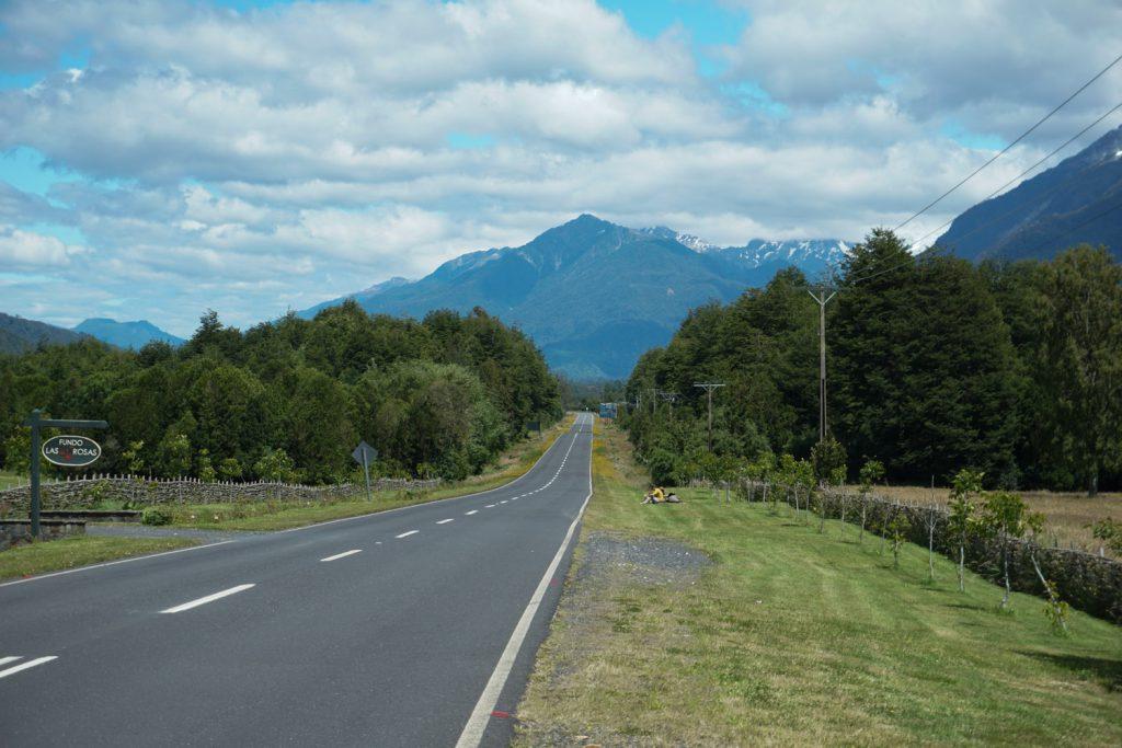 tolle Straße, wenig Verkehr, beeindruckende Landschaft