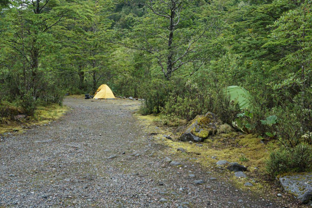 Suchbild: Wo ist mein Zelt? Tipp: Mein Zelt ist nicht gelb