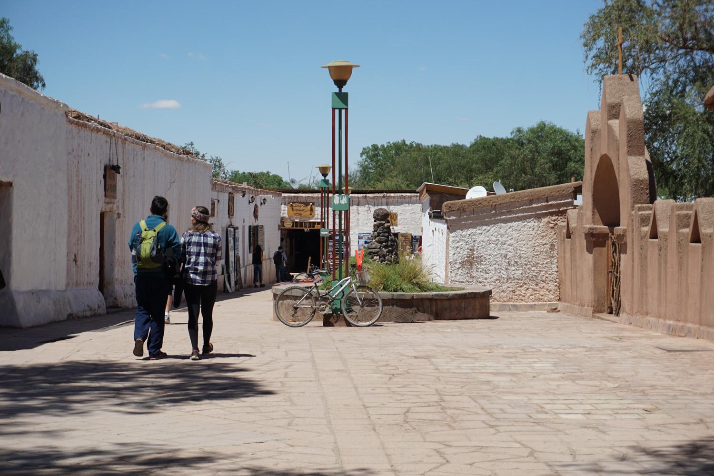 Straße in San Pedro