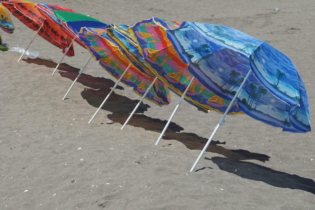 Am Strand von La Serena