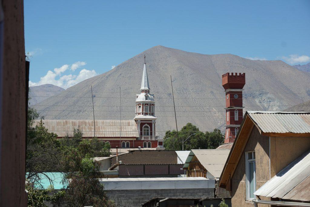 Vicuña, Blick von unserem Hotel