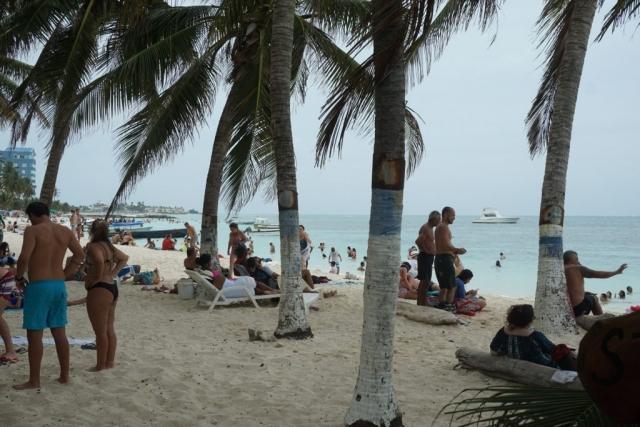 Strand in San Andrés